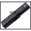 Toshiba Satellite L645 4400 mAh 6 cella fekete notebook/laptop akku/akkumulátor utángyártott