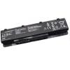 N55 Series 4400 mAh 6 cella fekete notebook/laptop akku/akkumulátor utángyártott