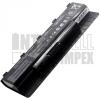N76 Series 4400 mAh 6 cella fekete notebook/laptop akku/akkumulátor utángyártott