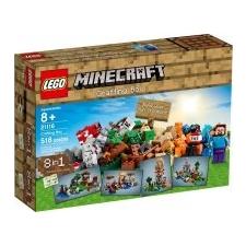 LEGO Minecraft: Crafting láda 21116 lego