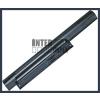 Sony VPC-EA26FF/W 4400 mAh 6 cella fekete notebook/laptop akku/akkumulátor utángyártott