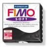 Gyurma, 56 g, égethető, FIMO Soft, fekete