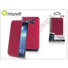 Muvit Samsung SM-G920 Galaxy S6 flipes tok - Muvit Crystal Folio Croco - pink