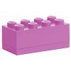LEGO 2x4 mini tárolódoboz pink (40121739)