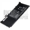 S551L Series 4400 mAh 6 cella fekete notebook/laptop akku/akkumulátor utángyártott