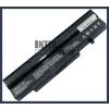 Fujitsu BTP-C2L8 4400 mAh 6 cella fekete notebook/laptop akku/akkumulátor utángyártott