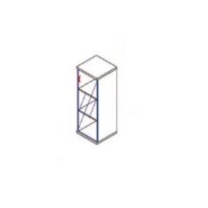 Megrendeléstől számított kb. 2 hét 117-1Ü-J üvegajtós szekrény (Üvegajtós félszekrény jobbos kialakításban)