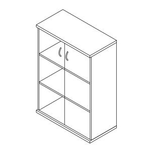 Megrendeléstől számított kb. 2 hét 116-2A-Ü üvegajtós szekrény