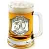Óncímkés sörös korsó 45, 50 éves (1.)