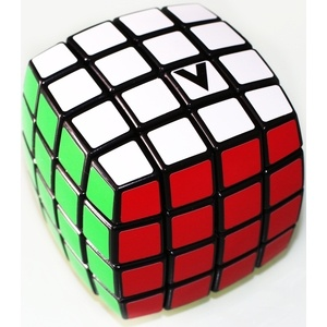 V-Cube V-CUBE 4×4 versenykocka, fekete, lekerekített