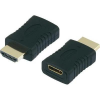 SpeaKa Professional HDMI adapter [1x HDMI 1x HDMI jack dugó C mini] , SpeaKa professional