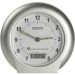 Eurochron Rádiójel vezérlésű ébresztőóra, ezüst/fehér, Eurochron