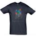 Petissimo tavaszi férfi póló - kék XL