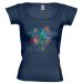 Petissimo tavaszi női póló - kék S