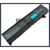 Toshiba DynaBook CX/855LS 4400 mAh 6 cella fekete notebook/laptop akku/akkumulátor utángyártott