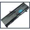 Toshiba PABASO77 6600 mAh 9 cella fekete notebook/laptop akku/akkumulátor utángyártott