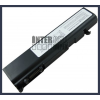 Toshiba Satellite U205 Series 4400 mAh 6 cella fekete notebook/laptop akku/akkumulátor utángyártott