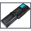 Toshiba Satellite P205 Series 6600 mAh 9 cella fekete notebook/laptop akku/akkumulátor utángyártott