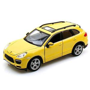 BBurago Bburago: Porsche Cayenne fém autó sárga színben 1/24