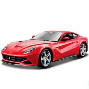 BBurago Bburago: Ferrari F12 Berlinetta fém autó piros színben 1/24