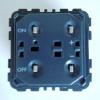 LEGRAND CELIANE Nyomógombos fényerőszabályzó 0-10 V előtét 40-600W IP20 67080 - Legrand