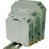 Tracon Electric Fázisvezető ipari sorozatkapocs, csavaros, sínre, szürke - 6-35mm2, 1000V, 150A TSKA35 - Tracon