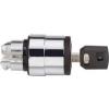 Schneider Electric Kulcsos kapcsolófej 3állású - Fém működtető- és jelzőkészülékek-harmony 4-es sorozat-22mm - Harmony xb4 - ZB4BG0 - Schneider Electric