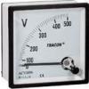 Tracon Electric Analóg váltakozó áramú voltmérő - 48x48mm, 450V AC ACVM48-450 - Tracon