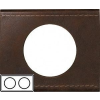 LEGRAND CELIANE Bőr Kettes keret IP20 Cserzett bőr 69402 - Legrand