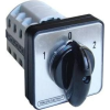 Tracon Electric Választókapcsoló, 1-0-2 - 400V, 50Hz, 32A, 2x3P, 11kW, 64x64mm, 60° TKV-3263 - Tracon