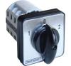 Tracon Electric Választókapcsoló, 1-0-2 - 400V, 50Hz, 32A, 2x3P, 11kW, 64x64mm, 60° TKV-3263 - Tracon villanyszerelés