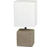 Rabalux Asztali lámpa  ORLANDO  1x40 W  Kakaó, Natúr/opál - Rabalux világítás