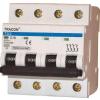 Tracon Electric Kismegszakító, 4 pólus, C karakterisztika - 63A, 6kA TDZ-4C-63 - Tracon