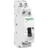 Schneider Electric A9 iCT16A 1NO 1NC 220Vac 50HZ kézi működtetésű moduláris kontaktor, A9C23515 Schneider Electric