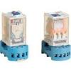 Tracon Electric Ipari teljesítmény relé - 48V DC / 2xCO (10A, 230V AC / 28V DC) RT08-48DC - Tracon