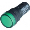 Tracon Electric LED-es jelzőlámpa, zöld - 230V AC/DC, d=16mm LJL16-GE - Tracon