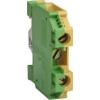 Noratex Sorolható sorkapocs 4mm szürke-zöld