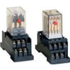 Tracon Electric Miniatűr relé - 24V AC / 2xCO, (3A, 230V AC / 28V DC) RM09-24AC - Tracon