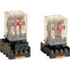 Tracon Electric Ipari relé - 110V DC / 3xCO, (3A, 230V AC / 28V DC) RM11-110DC - Tracon