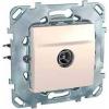 Schneider Electric UNICA PLUS TV aljzat Tv: 8 db @5...2150 mhz IP20 Elefántcsont MGU50.462.25Z - Schneider Electric