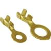Tracon Electric Sajtolható szigeteletlen szemes saru, sárgaréz - 1-2,5mm2, M5 HSZ5 - Tracon