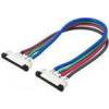 Lumen 2 darab csatlakozóelem kábellel 10mm RGB 7.2W (5050) LED szalaghoz , LUM30-36 Lumen