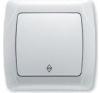 Viko CARMEN Váltókapcsoló Fehér 90561004 - Viko villanyszerelés