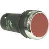 Noratex Rugós visszatérítésű piros nyomógomb műanyag peremmel 1 zárt érintkezővel