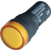 Tracon Electric LED-es jelzőlámpa, sárga - 400V AC, d=16mm LJL16-YF - Tracon