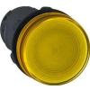 Schneider Electric Jelzőlámpa, sárga - Műanyag vázas jelzőlámpák-harmony 7 sorozat 22-25mm - Harmony xb7 - XB7EV75P - Schneider Electric