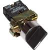 Tracon Electric Tokozott karos kapcsoló, fémalap, kétállású - 1xNO, 3A/230V AC, IP44 NYBD21KSTT - Tracon