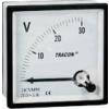 Tracon Electric Analóg egyenáramú voltmérő - 48x48mm, 450V DC DCVM48-400 - Tracon