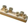 Tracon Electric Szakadófejes csavaros alumínium toldóhüvely - 185-240mm2, 2x(3xM16) AT185-240CS - Tracon