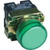 Tracon Electric Jelzőlámpa, fémalapra szerelt, zöld - 3A/400V AC, IP42, NYGI230 NYGBV63Z - Tracon